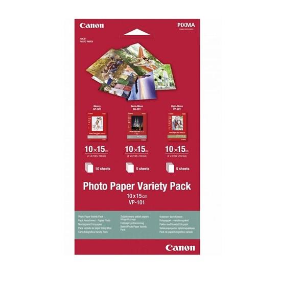 Φωτογραφικό Χαρτί Canon VP-101 A6 10 xGP-501/5 xSG-201/5 xPP-201 (0775B078AA)