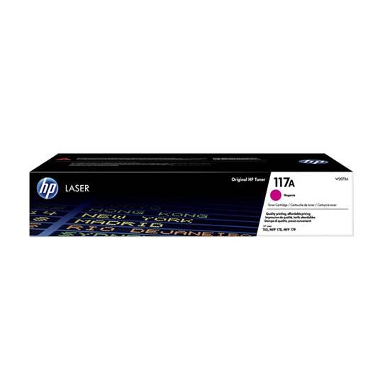 HP 117A Magenta Original Laser Toner Cartridge (W2073A) (HPW2073A)