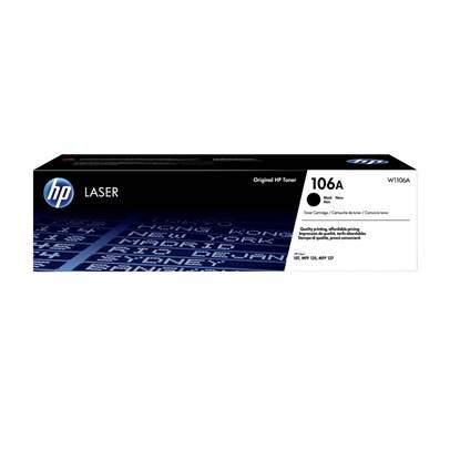 HP 106A Black Original Laser Toner Cartridge (1k) (W1106A) (HPW1106A)