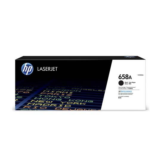 HP 658A Black LaserJet Toner Cartridge (7k) (W2000A) (HPW2000A)