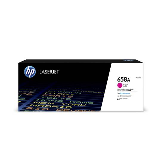 HP 658A Magenta LaserJet Toner Cartridge (6k) (W2003A) (HPW2003A)