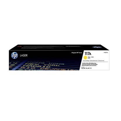 HP 117A Yellow Original Laser Toner Cartridge (W2072A) (HPW2072A)