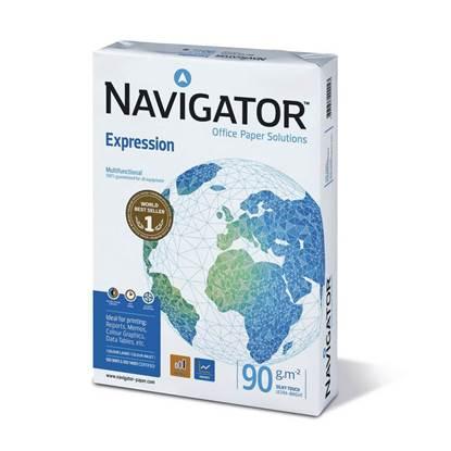Επαγγελματικό Χαρτί Εκτύπωσης Navigator (Expression) A4 90g/m² 500 Φύλλα (NVG330965)