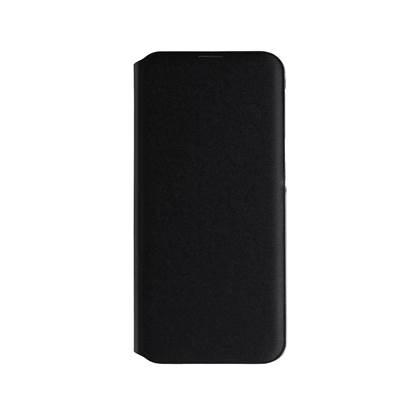 Samsung Galaxy A20 Flip Wallet Cover Black (EF-WA202PBEGWW) (SAMEF-WA202PB)