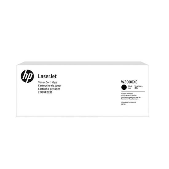 HP 658X Black Contract LaserJet Toner Crtg (33k) (W2000XC) (HPW2000XC)