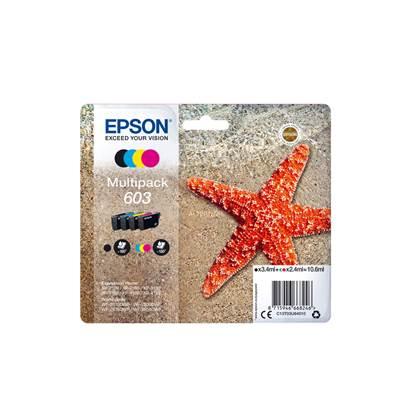 Epson Μελάνι Inkjet 603 Multipack (C13T03U64010) (EPST03U640)