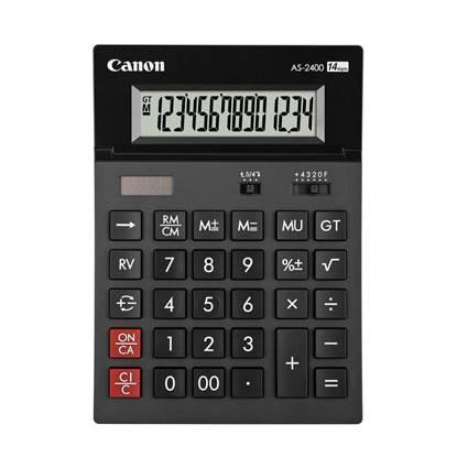 Αριθμομηχανή 14 Ψηφίων Canon AS-2400 (4585B001AB) (CANAS2400)