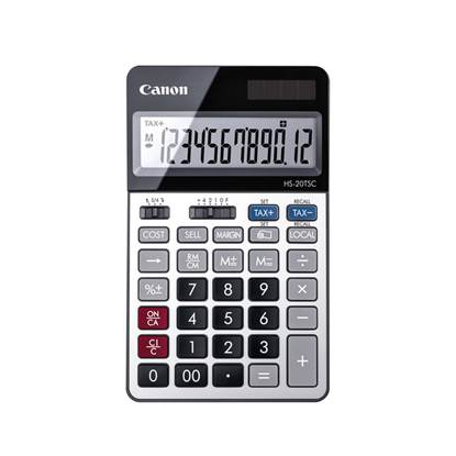 Αριθμομηχανή 12 Ψηφίων Canon HS-20TSCDBL (2469C002AA) (CANHS20TSC)