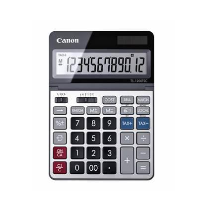 Αριθμομηχανή 12 Ψηφίων Canon TS-1200TSCDBL (2468C002AA) (CANTS1200TSC)