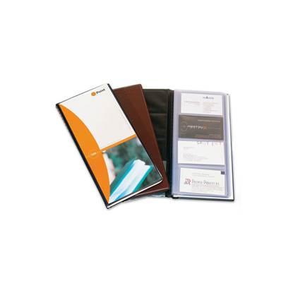 Θήκη Πιστωτικών Καρτών για 180 Κάρτες POINT PF-116 (Καφέ) (POIPF116BRN)