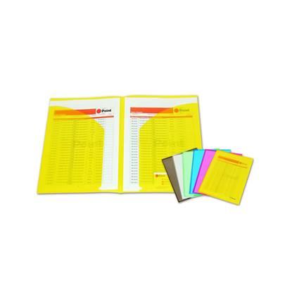 Ζελατίνες POINT Δίφυλλες PF-119 (Κίτρινο) (POIPF119Y)