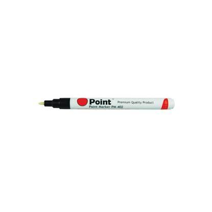 Μαρκαδόρος POINT Paint Μύτη 1-2 mm (Ασημί) (POI-PM402S)