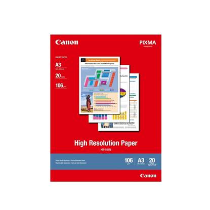 High Resolution Paper CANON A3 110g/m² 20 Φύλλα (1033A006AB) (CAN-HR-101-A3)