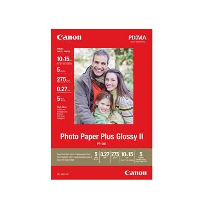 Φωτογραφικό Χαρτί Canon Glossy 10x15 (5 φύλλα) (2311B053) (CAN-PP-201)