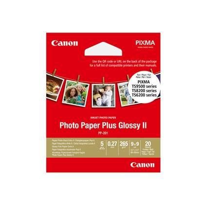 Φωτογραφικό Χαρτί CANON PP-201 (3,5x3,5 inch) 20 Φύλλα (2311B070) (CAN-PP201-3)