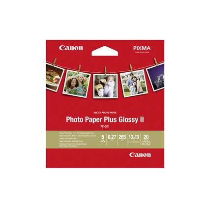 Φωτογραφικό Χαρτί CANON PP-201 (5x5 inch) 20 Φύλλα (2311B060) (CAN-PP201-5)