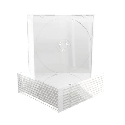 MediaRange CD Slimcase for 1 disc 5.2mm Frosted/Transparent tray (MRBOX20)