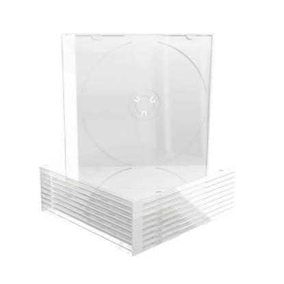 MediaRange CD Slimcase for 1 disc 5.2mm Frosted/Transparent tray (MRBOX20)
