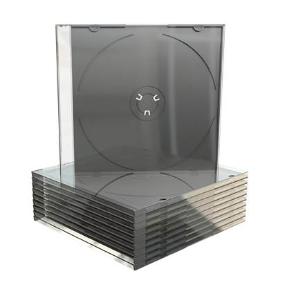 MediaRange CD Slimcase for 1 disc 5.2mm Black tray (MRBOX21)