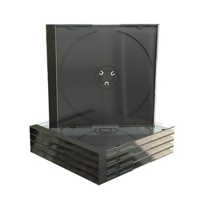 MediaRange CD Jewelcase for 1 disc 10.4mm Black tray (MRBOX22)