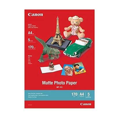 Φωτογραφικό Χαρτί Canon Matte A4 170g/m² 5 φύλλα (7981A042AA) (CAN-MP-101)