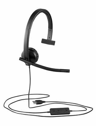Logitech Headset 3,5mm H650e mono (981-000571) (LOGH570E)