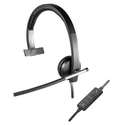 Logitech Headset 3,5mm H650e mono (981-000514) (LOGH650E)