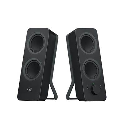 Logitech Z207 2.0 Bluetooth Speakers (Black) (980-001295) (LOGZ207)