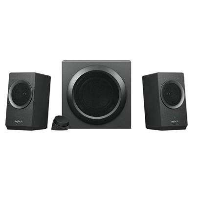 Logitech Z337 2.1 Speaker System with Bluetooth (Black) (980-001261)