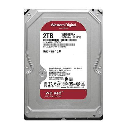 "Western Digital Εσωτερικός Σκληρός Δίσκος 2 TB (Red 3.5"") (WD20EFAX)"