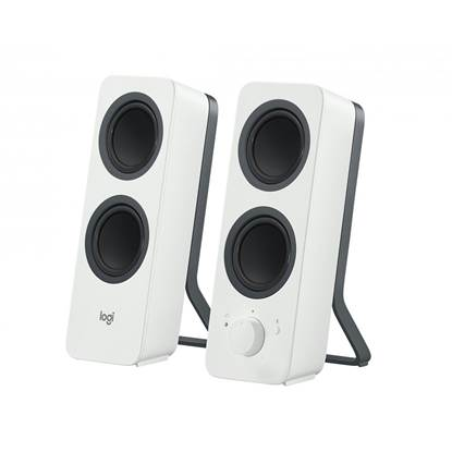 Logitech Z207 2.0 Bluetooth Speakers (White) (LOGZ207)