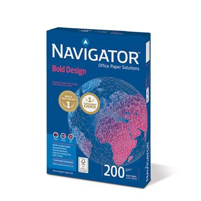 Επαγγελματικό Χαρτί Εκτύπωσης Navigator (BOLD DESIGN) A4 200/m² 150 Φύλλα (NVG330973)