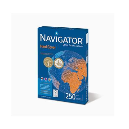 Επαγγελματικό Χαρτί Εκτύπωσης Navigator (HARD COVER) A4 250/m² 125 Φύλλα (NVG330974)