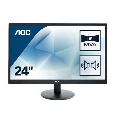 "AOC Led VA FHD Monitor 24"" (M2470SWDA2) (AOCM2470SWDA2)"