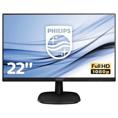 "PHILIPS Led IPS FHD Monitor 22"" (223V7QHAB2) (PHI223V7QHAB)"