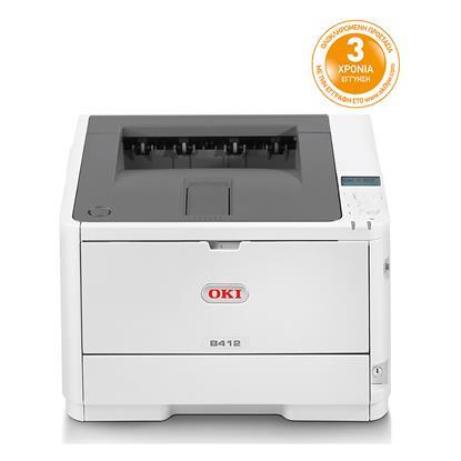 OKI B412dn Monochrome Laser Printer (OKIB412DN) (45762002)
