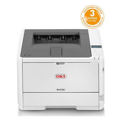 OKI B432dn Monochrome Laser Printer (OKIB432DN) (45762012)