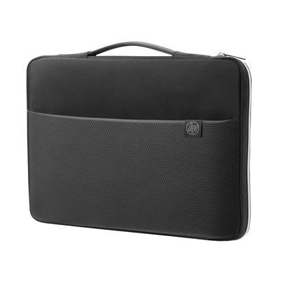 "HP 35.56 cm (14"") Carry Sleeve Black/Silver (3XD34AA) (HP3XD34AA)"