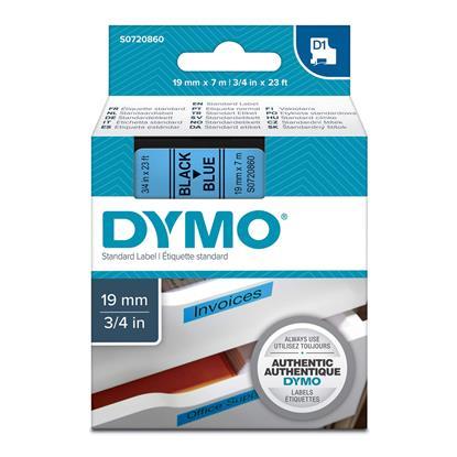 Ταινία Ετικετογράφου DYMO Standard 45806 19 mm x 7 m (Μαύρα Γράμματα σε Μπλέ Φόντο) (S0720860) (DYMO45806)