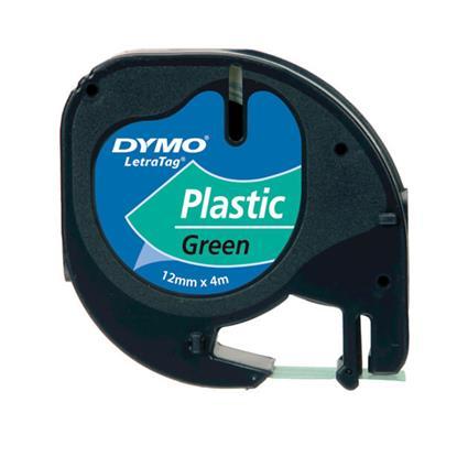 Πλαστική Ταινία Ετικετογράφου DYMO 91204 12x4 mm. (Πράσινη) (S0721640) (DYMO91204)