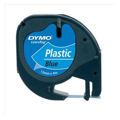 Πλαστική Ταινία Ετικετογράφου DYMO 12x4 mm. (Μπλέ) (S0721650) (DYMO91205)