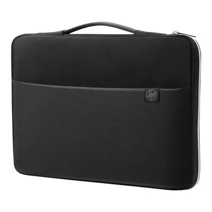 "HP 39.62 cm (15.6"") Carry Sleeve Black/Silver (3XD36AA) (HP3XD36AA)"