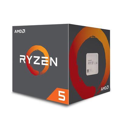 Επεξεργαστής AMD AM4 Ryzen 5 1600 3.2 GHz (YD1600BBAFBOX) (AMDRYZ5-1600)