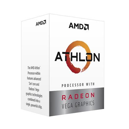 Επεξεργαστής AMD Athlon 3000G Box AM4  (YD3000C6FHBOX) (AMDYD3000C6FHBOX)