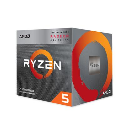 Επεξεργαστής AMD Ryzen 5 3400G Box AM4 (4,200GHz) (YD3400C5FHBOX) (AMDRYZ5-3400G)