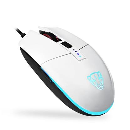 Motospeed V50 Wired gaming mouse white color (MT-00100) (MT00100)