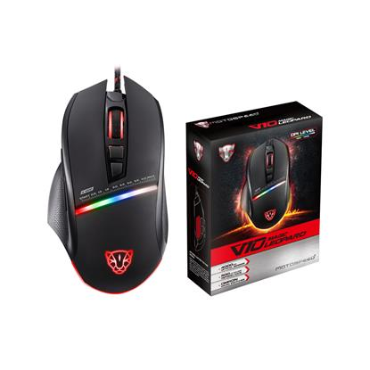 Motospeed V10 Wired gaming mouse black color (MT-00101) (MT00101)