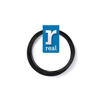 REAL PLA 3D pen filament Black ( 10 m / 1.75 mm ) (3DPFPLABLACK10MM175) (REF3DPFPLABLACK10MM175)