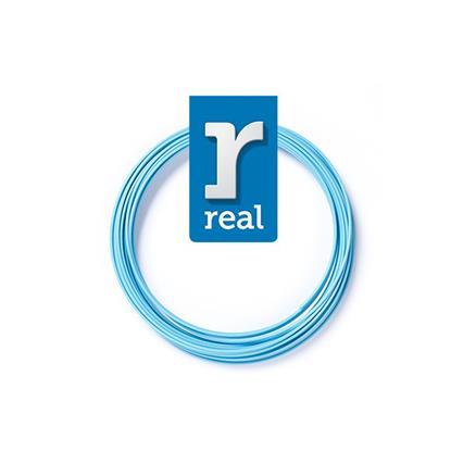 REAL PLA 3D pen filament Light Blue ( 10 m / 1.75 mm ) (3DPFPLALBLUE10MM175) (REF3DPFPLALBLUE10MM175)