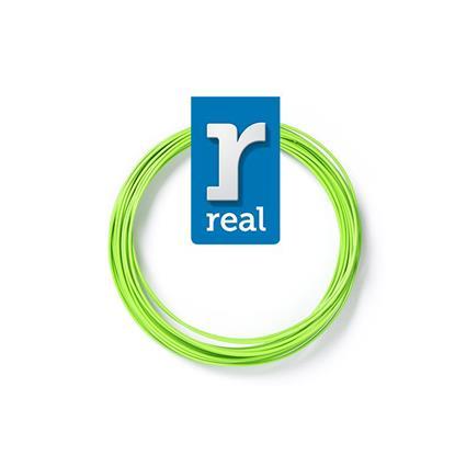 REAL PLA 3D pen filament Light Green ( 10 m / 1.75 mm ) (3DPFPLANGREEN10MM175) (REF3DPFPLANGREEN10MM175)